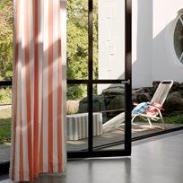 Nya Nordiska Nizza Stripe 44 Orange Tyg