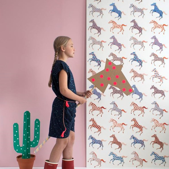 Studio Ditte Horses Tapet