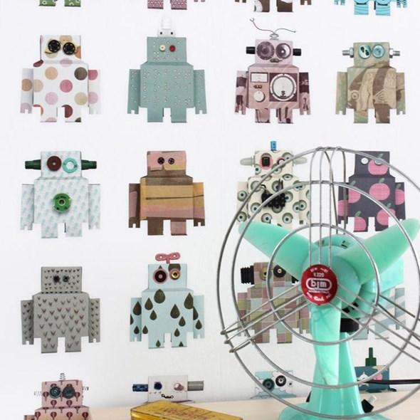 Studio Ditte Robot Tapet