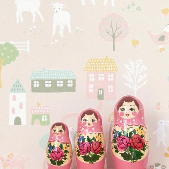 Majvillan My farm Soft pink