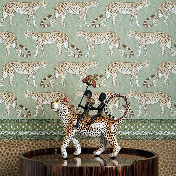 Cole & Son Leopard walk