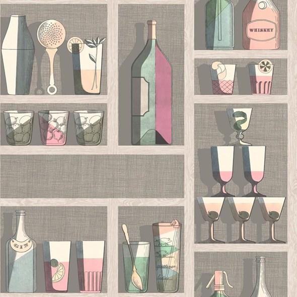 Cole & Son Cocktails Tapet