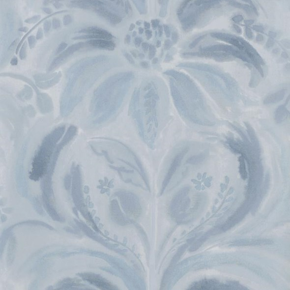 Designers Guild Angelique Damask Indigo Tapet
