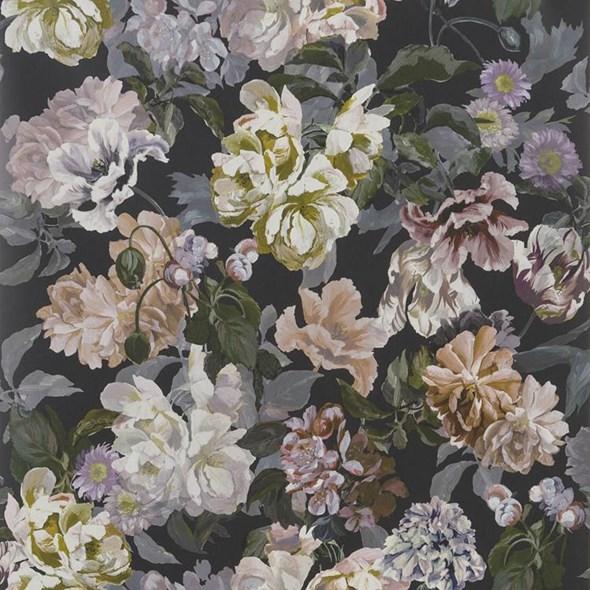 Designers Guild Delft flower Charcoal