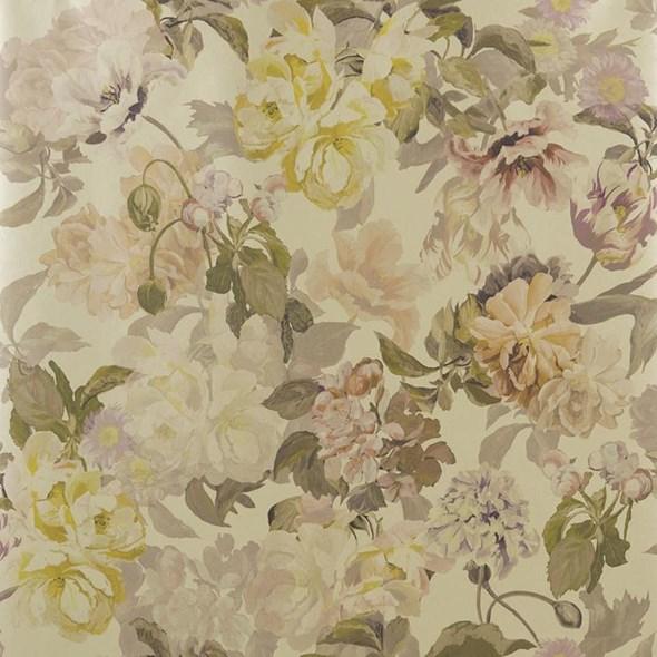 Designers Guild Delft flower Gold Tapet