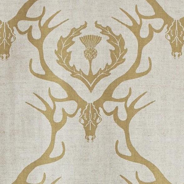 Barneby Gates Deer Damask