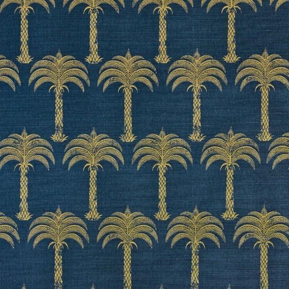 Barneby Gates Marrakech Palm Midnight Blue