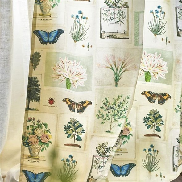 John Derian Flora And Fauna Tyg