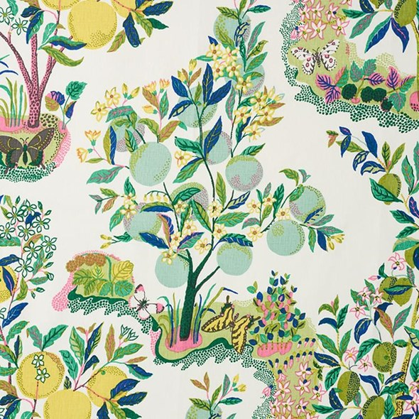 Josef Frank Citrus Garden, Lime