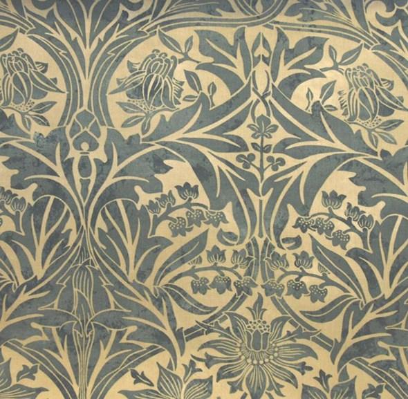 William Morris & co Bluebell Tyg