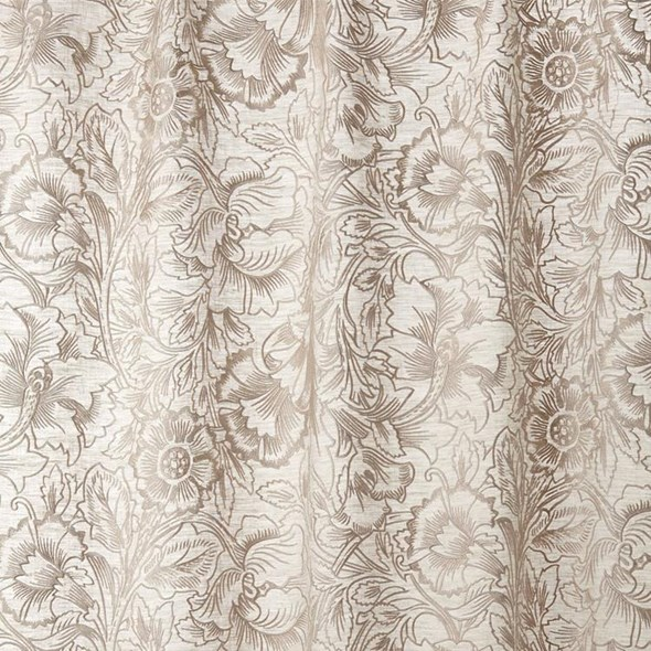 William Morris & co Pure Poppy Embroidery