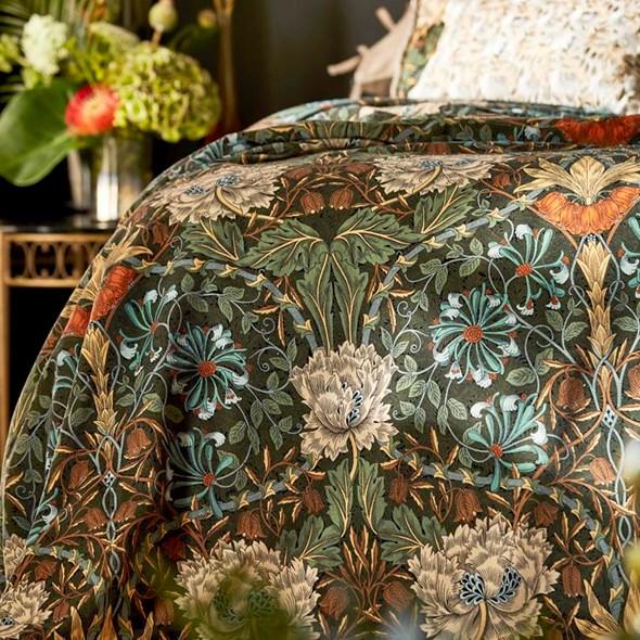 William Morris & co Honeysuckle & Tulip Velvet Tyg
