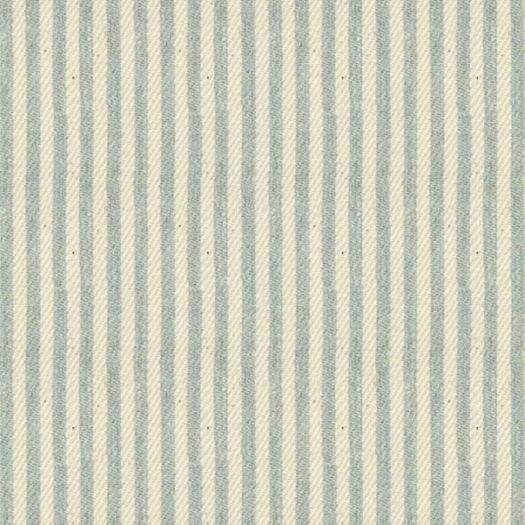 Ian Mankin Candy Stripe Mint Tyg