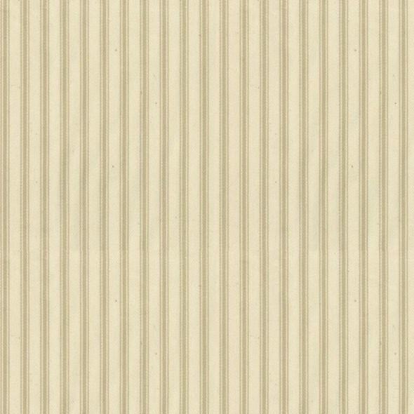 Ian Mankin Ticking Stripe 01 Cream