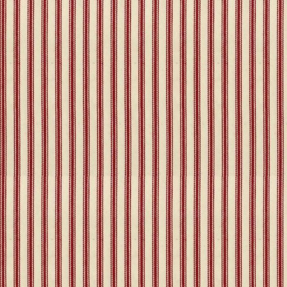 Ian Mankin Ticking Stripe 01 Peony