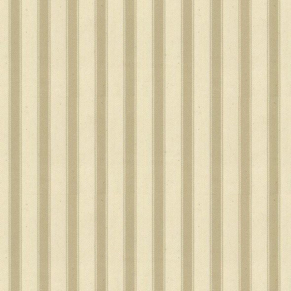 Ian Mankin Ticking Stripe 2 Cream Tyg