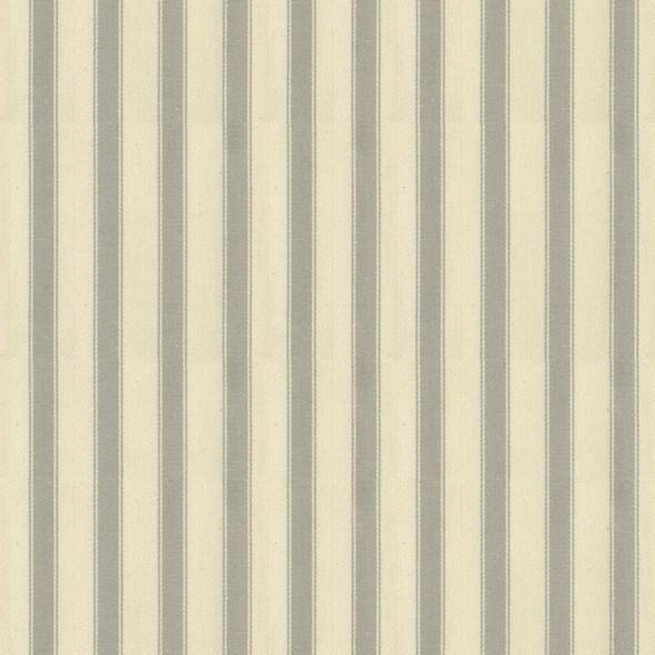 Ian Mankin Ticking Stripe 2 Grey Tyg