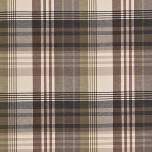 Mulberry Ancient Tartan Charcoal Gold