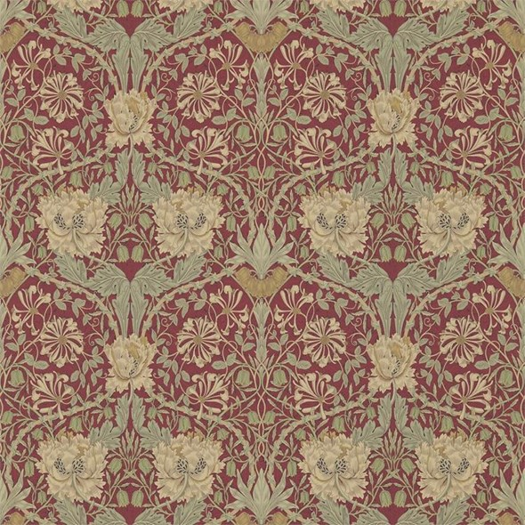 William Morris & co Honeysuckle & Tulip Tapet