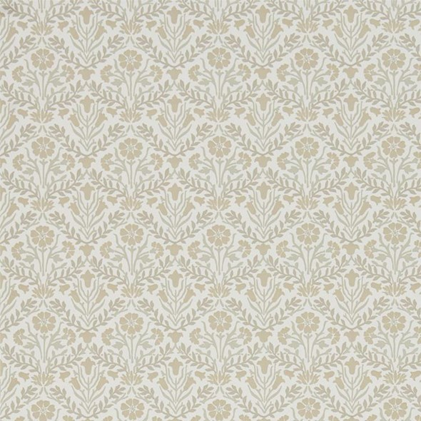 William Morris & co Morris Bellflowers Linen/Cream Tapet