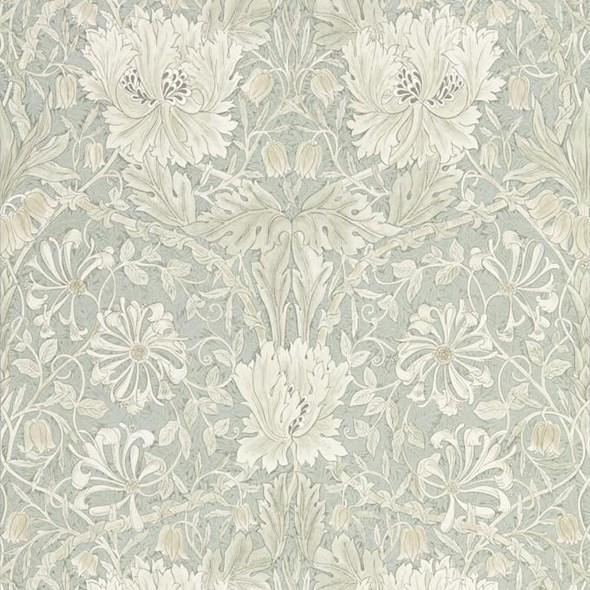 William Morris & co Pure Honeysuckle & Tulip Grey Blue