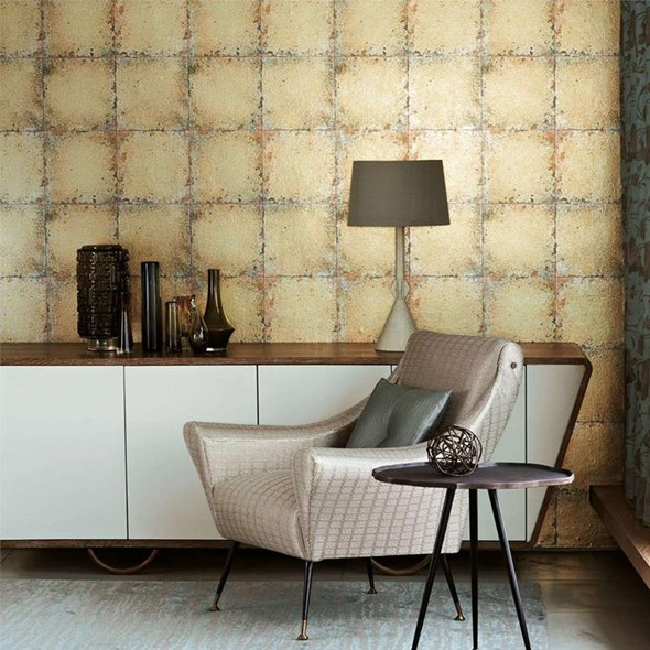 Zoffany Lustre Tile Gold