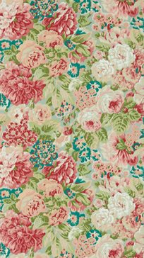 Sanderson Rose And Peony Tapet