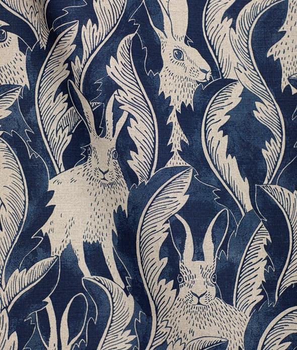 Emma von Brömssen Hares in Hiding Tyg