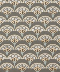 Liberty Deco Scallop, Pewter Tapet