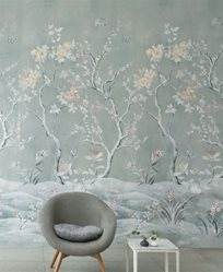 Designers Guild Manohari Grasscloth Blossom Tapet