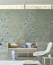 Designers Guild Manohari Grasscloth Delft Tapet