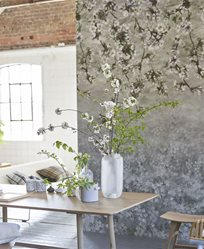 Designers Guild Assam Blossom Platinum Tapet