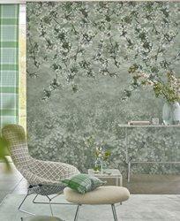 Designers Guild Assam Blossom Sage Tapet