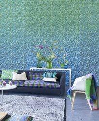 Designers Guild Odisha Cobalt Tapet