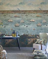 John Derian Seaport Ocean Tapet