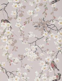 Little Greene Massingberd Blossom, Grey Tapet