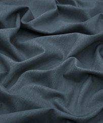 Liberty Lustre Linen Plain, Pewter Blue Tyg