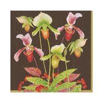 Slipper Orchid Chestnut Servett