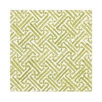 Fretwork, moss green Servett