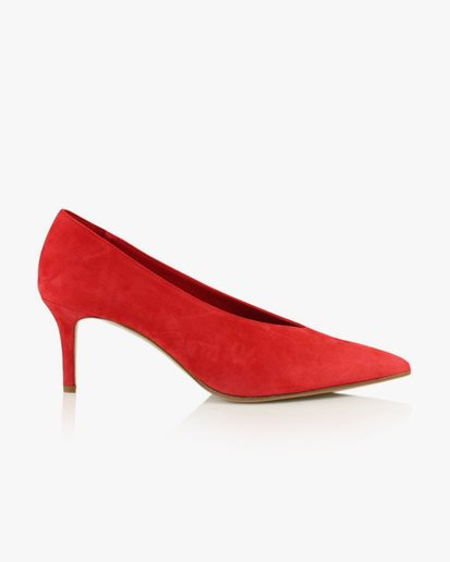 Notabene Bethy Red Suede