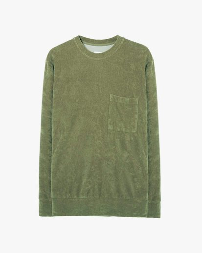 Universal Works Loose Pullover Olive