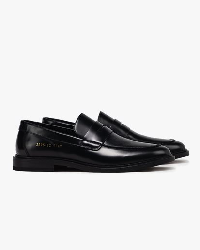 Common Projects Leather Loafer Black