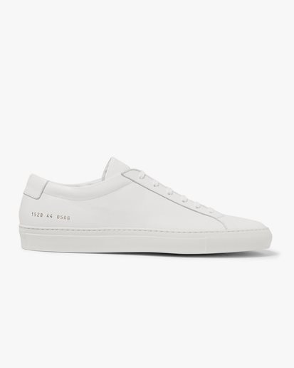 Common Projects Original Achilles Low White Leather