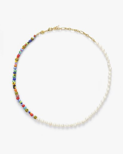 Anni Lu Pearly Alaia Necklace Gold