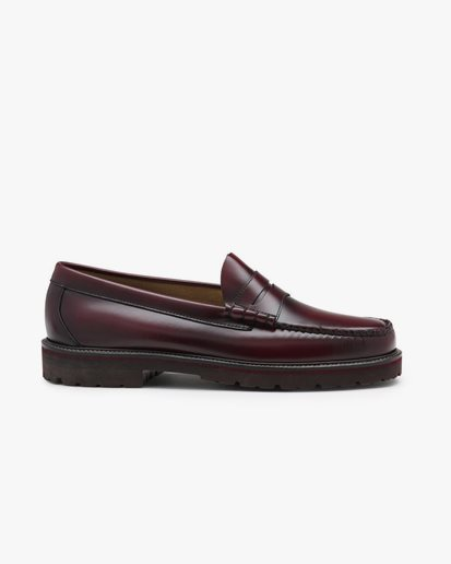 G.H. Bass Weejuns Larson Penny Loafers Wine Leather