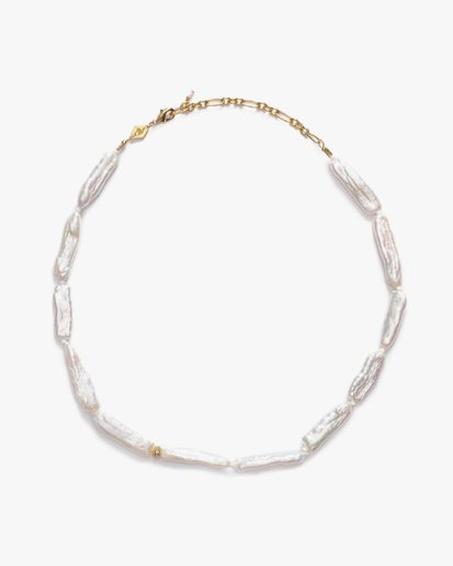 Anni Lu The Great White Necklace Gold