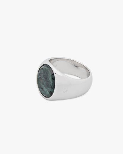 Tom Wood Oval Green Marble