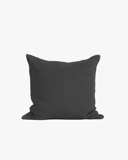 Tell Me More Brick Cushion Cover Charcoal