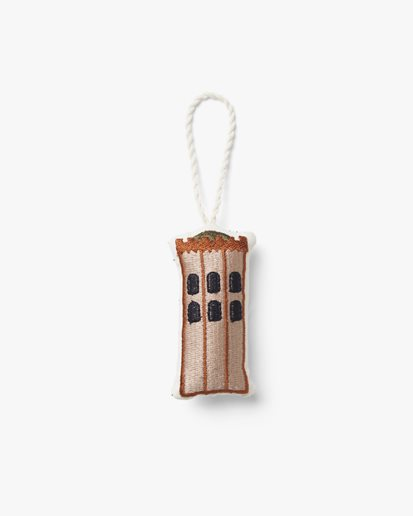 Ferm Living Embroidered Ornaments The Round Tower