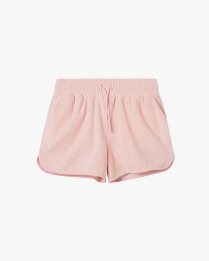 Nikben Terry Low Shorts Silver Pink